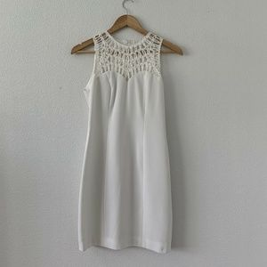 Laundry By Shelli Segal White Sleeveless Dress 2